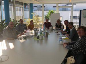Arge Wohlfahrt Stadt und Land - Treffen mit Vertretern des jobcenters